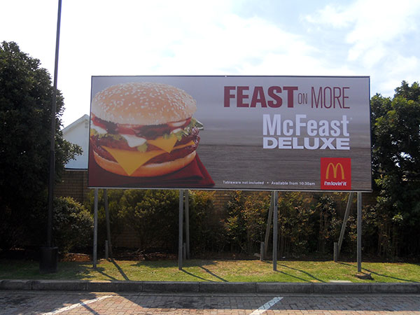 Port Elizabeth Billboard Design